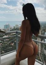 Fit latina bikini babe