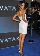 Zoe Saldana looking sexy at a premiere