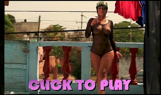 Video of a curvy Mexican babe posing nude