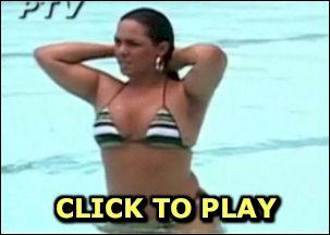 Andressa Soares in a small bikini