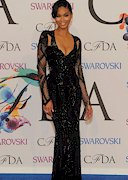 Chanel Iman is Gorgeous at Fashion Awards!